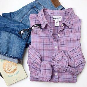Vintage Pendleton Purple Button Up Flannel
